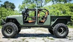 Jeep Wrangler truck conversion