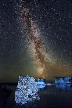 Milky Way over Iceland.