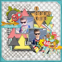1+cool+kid - Scrapbook.com