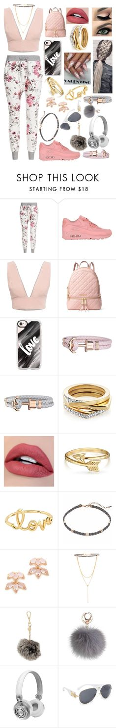 """Untitled #253"" by sodenoshirayuki-kuran ❤ liked on Polyvore featuring NIKE, Animale, MICHAEL Michael Kors, Casetify, Paul Hewitt, Bling Jewelry, Sydney Evan, Kate Spade, Steve Madden and Ted Baker"