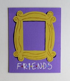 Friends TV Show Door Frame Monica's