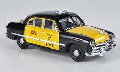 Ford Custom 1949 4-Door Sedan Yellow Cab Co. black/yellow Taxi American Heritage Models. Ford Custom 1949 4-Door Sedan Yellow Cab Co. black/yellow Taxi Taxi miniature 1/43
