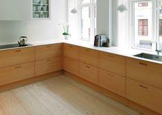 GI-Serie (køkken) Home Kitchens, Corner Desk, Mid-century Modern, Sweet Home, Kitchen Cabinets, Mid Century, Design Ideas, House Design, Interiors