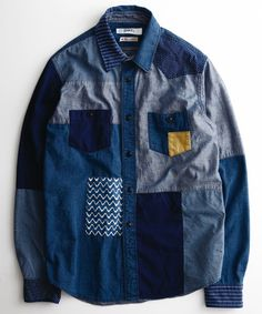 BORO INDIGO SHIRT SOFT WASH | シャツ | | Catii - FDMTL