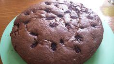 Bolo de chocolate com amoras
