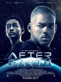 After Earth movie poster - See best of PHOTOS of the AFTER EARTH 2013 film http://www.wildsoundmovies.com/after_earth.html