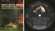 Luboff, Norman (Choir) / Great Movie Themes / RCA Victor LSP-2895 (1964), $8.00