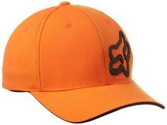 Fox Men's Signature Flexfit Hat, Orange, Large/X-Large - http://ridingjerseys.com/fox-mens-signature-flexfit-hat-orange-largex-large/