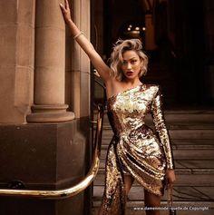 Abendkleider In Gold 2021 Festlich Und Elegant Kleider Elegant Abendkleid