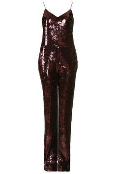 Love the Topshop **Sequin Jumpsuit by Unique on Wantering.