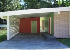 Miniature Mid-Century Modern House   I built this model as t…   Flickr
