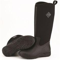 Muck Boots Women's Arctic Adventure Black  are waterproof boots designed for women.