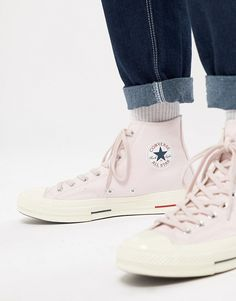 ea80086400a6 Converse Chuck Taylor All Star  70 Hi Sneakers In Pink 160492C