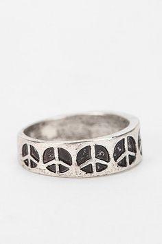 Peace Midi Ring