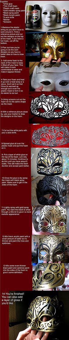 Hellequin Mask from Assassin's Creed: Brotherhood by Jugsyjinx