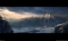 Snowy Mountains by Igor Staritsin | 2D | CGSociety