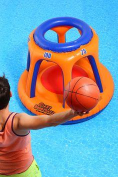 Oversized Shootball Pool Float