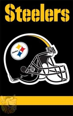 pittsburgh steelers 2 sided applique banner flag by party animal pittsburgh steelers 2