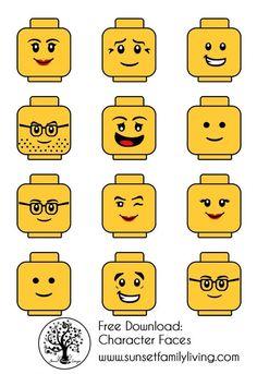 ideas for birthday party boy themes lego Lego Themed Party, Lego Birthday Party, 6th Birthday Parties, Boy Birthday, Lego Parties, Cake Birthday, Yellow Birthday, Lego Ninjago, Ninjago Party