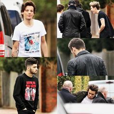 The boys on set filming new scenes for 'Midnight Memories' in London! Midnight Memories, Funny Boy, Five Guys, Best Song Ever, I Love One Direction, 1d And 5sos, Liam Payne, Louis Tomlinson, Boys Who