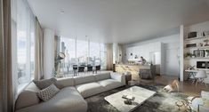 Awesome Open Floor Plan Design Interior