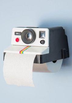 El dispensador de papel higiénico más original