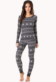 Maybe not the sexiest, but surely the comfiest! Snowed In PJ Set Cute Pjs, Cute Pajamas, Comfy Pajamas, Lazy Day Outfits, Cute Outfits, The Maxx, Thermal Pajamas, Pj Sets, Pyjama Sets