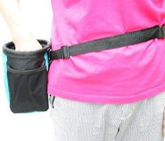 Dog Training Treats Bag Pet Feed Pouch Food Waist Bag Training Treat Pouch Red >>> To view further for this item, visit the image link.