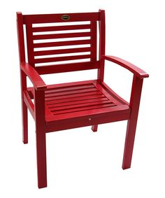 Look what I found on #zulily! Red Kitana Armchair #zulilyfinds