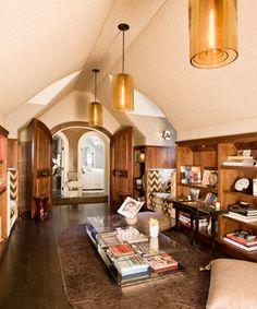 Suffern Estate modern family room