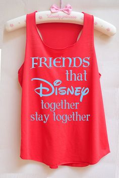 Friends that Disney Together, Stay Together