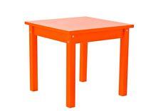 Orange Children Table by Hoppekids