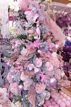 Christmas Tree Pink Theme Gandgweb