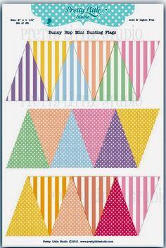 Imprimolandia: Banderines para fiesta Más