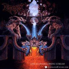 Dismember - Like An Everflowing Stream #dismember #deathmetal #metal #animatedcovers #gif #nuclearblast
