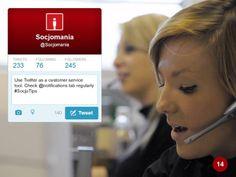 50 Twitter Tips (14). Full presentation: https://www.slideshare.net/Socjomania/the-ultimate-guide-to-twitter-50-useful-tips  #Twitter #TwitterTips #SocialMedia #SocialMediaTips