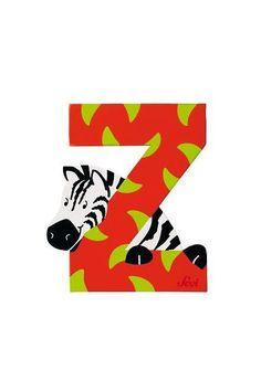 Letter Z Zebra (Animal)