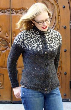 Sky Isle by Candace Joggerst. I like the variation on a traditional fair isle.