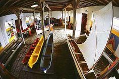 La salle des canoas - Museu Nacional do Mar,  Brésil.