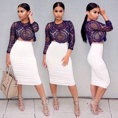 Posted up  #OOTD Top @whitefoxboutique Skirt @nakedwardrobe Shoes @carolinnaespinosa  #glamrezy