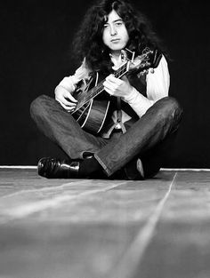 """""""I can communicate far better on a guitar than I can through my mouth."""" - Jimmy Page"""