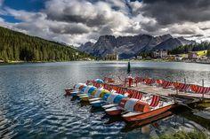 Lago di Misurina South Tyrol Dolomites by EuropeTrotter