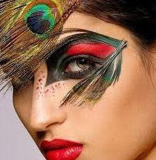 Maquillajes para carnaval - Mucha más Moda | Mucha más Moda