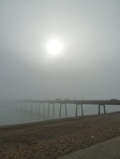 Fogging morning in Deal, Kent. Where's the end of the pier!