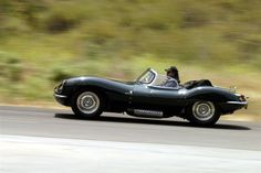 The very rare Jaguar XK SS. The Road going version of the D Type