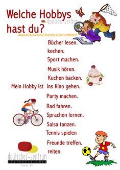Hobbys Deutsch Wortschatz Grammatik