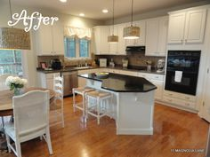 Kitchen Makeover Part 2 by Christy at 11 Magnolia Lane