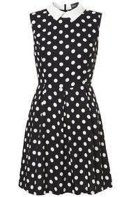 Apricot Structured Polkadot Print Dress http://www.apricotonline.co.uk/mall/productpage.cfm/womensclothing/_5051839146594/461694/Structured-Polkadot-Print-Dress