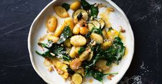 Go meat-free with this flavoursome burnt butter, lemon and basil-infused gnocchi.