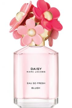 Daisy Eau So Fresh Blush  Marc Jacobs for women...  The composition includes accords of pear in the top, followed by a heart of water lily and honeysuckle, on a base of woods and musk.